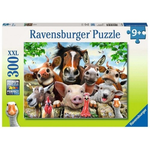 Say cheese!, Ravensburger Puzzle 300 pcs XXL