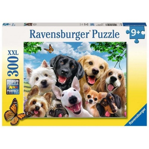 Delighted Dogs, Ravensburger Puzzle 300 pcs XXL