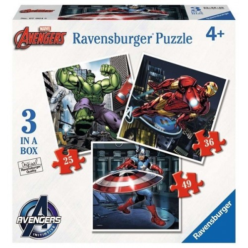 Avengers, Ravensburger Puzzle 3 in 1