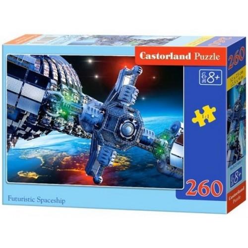 Futuristic Spaceship, Castorland Midi Puzzle 260pc