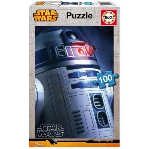 Star Wars - R2-D2, Educa puzzle 100 pcs