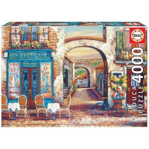 Le Petit Café, 4000 darabos Educa puzzle