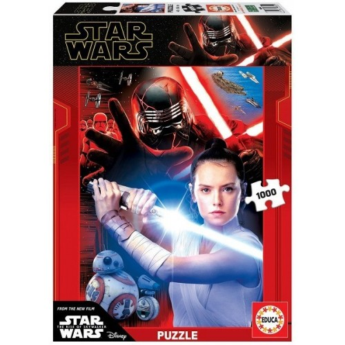 Star Wars - The Rise of Skywalker, Educa puzzle 1000 pcs