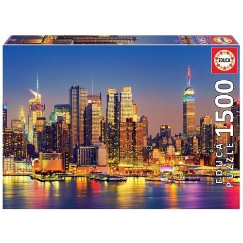Manhattan at night, Educa Puzzle 1500 pc