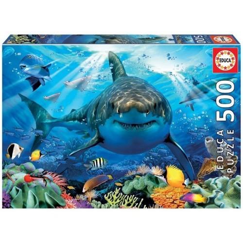 A nagy fehér cápa, 500 darabos Educa puzzle