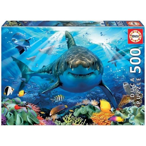 Great White Shark, Educa Puzzle 500 pcs