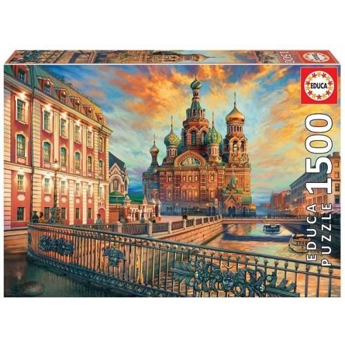 Szentpétervár, 1500 darabos Educa puzzle