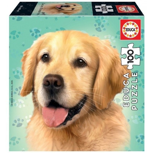 Golden Retriever, Educa puzzle 100 pc