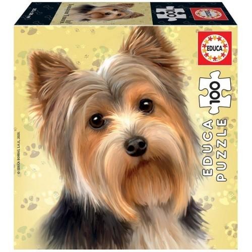 Yorkshire Terrier, 100 darabos Educa puzzle