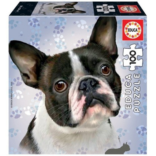 French Bulldog, Educa puzzle 100 pc
