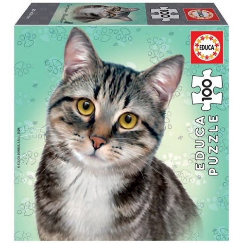 European Shorthair, Educa puzzle 100 pc